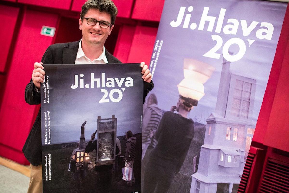 Nový plakát představil ředitel jihlavského festivalu Marek Hovorka