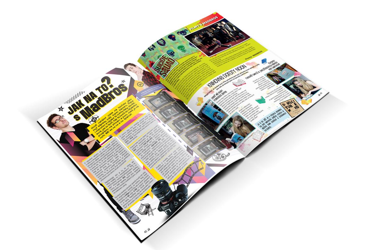 Ukázka z časopisu JJ