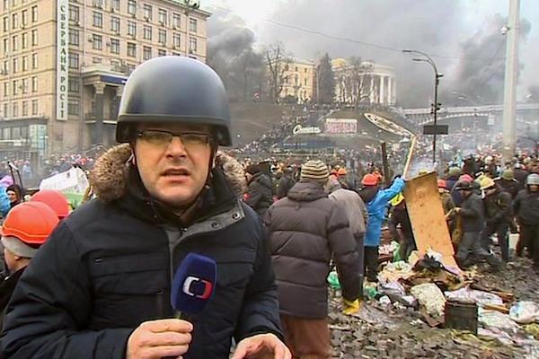 Josef Pazderka. Repro: Česká televize