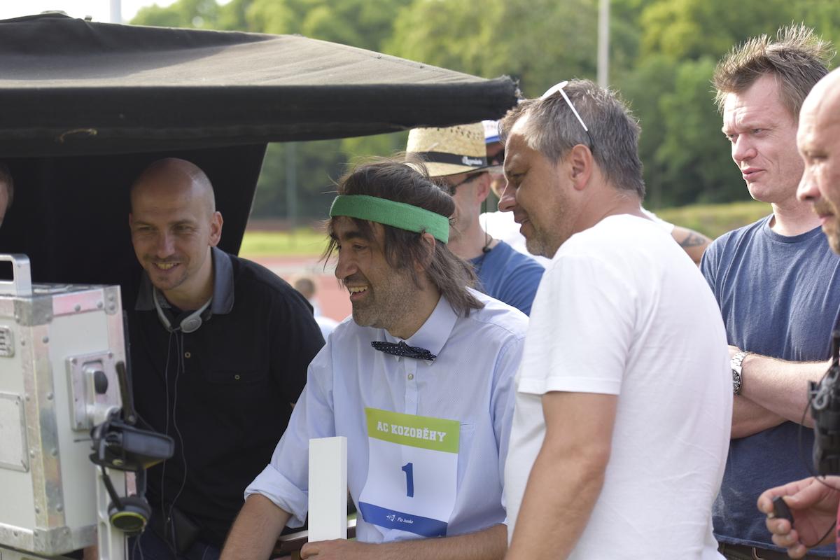 Jakub Kohák při tvorbě kampaně pro Fio