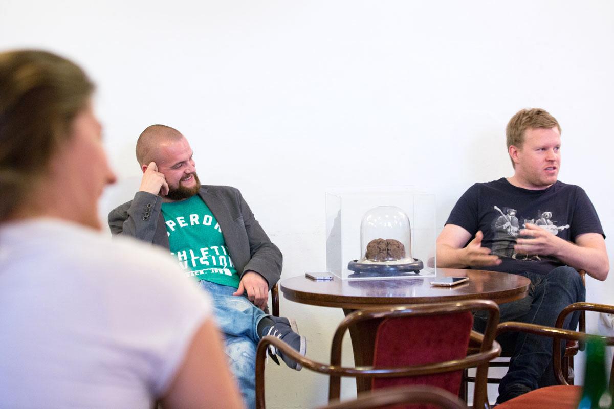 Jaroslav Malina a Antonín Milata. Foto: Mikuláš Křepelka