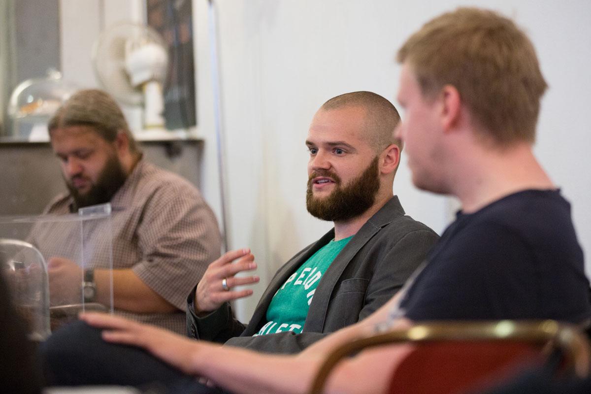 Uprostřed Jaroslav Malina z McCannu, vpravo Antonín Milata, vlevo Jan Javornický z Elite Solutions. Foto: Mikuláš Křepelka