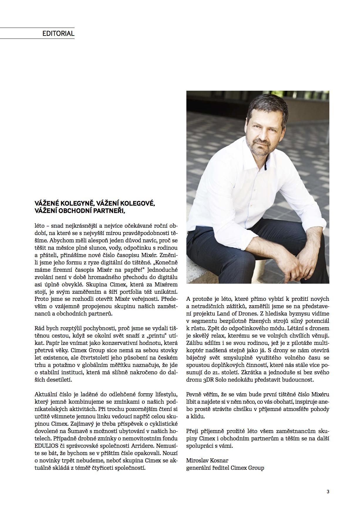 Ukázka z časopisu Mixér