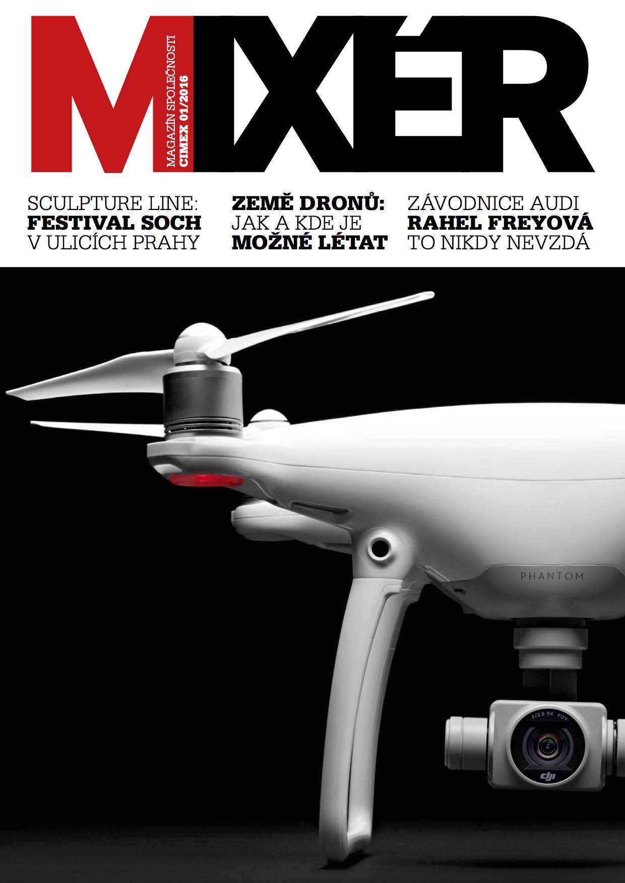 Titulní strana časopisu Mixér