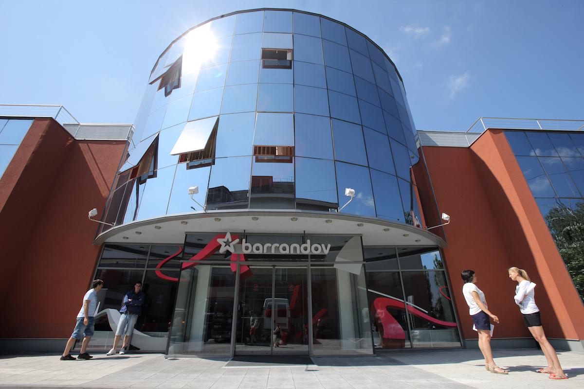 Sídlo televize Barrandov na pražském Barrandově. Foto: TV Barrandov