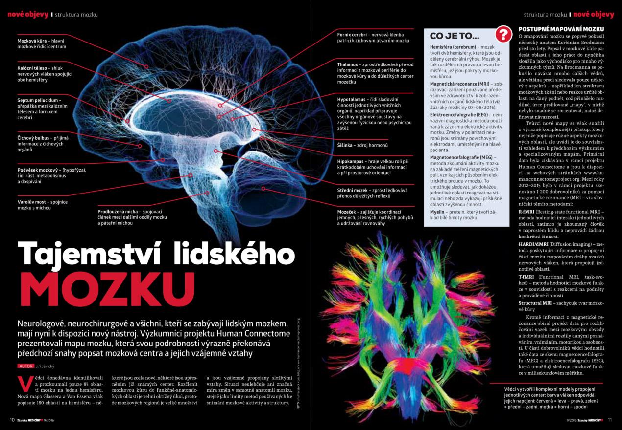 Ukázka z časopisu Zázraky medicíny