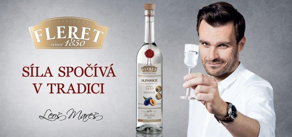 Leoš Mareš je novým amabasadorem destilérky Fleret