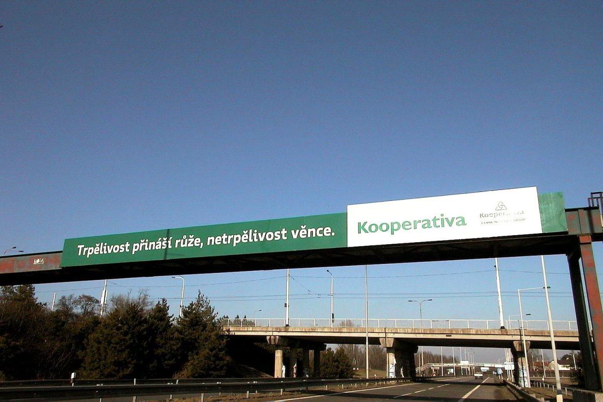 Kampaň Kooperativy. Foto: Freshjam.cz