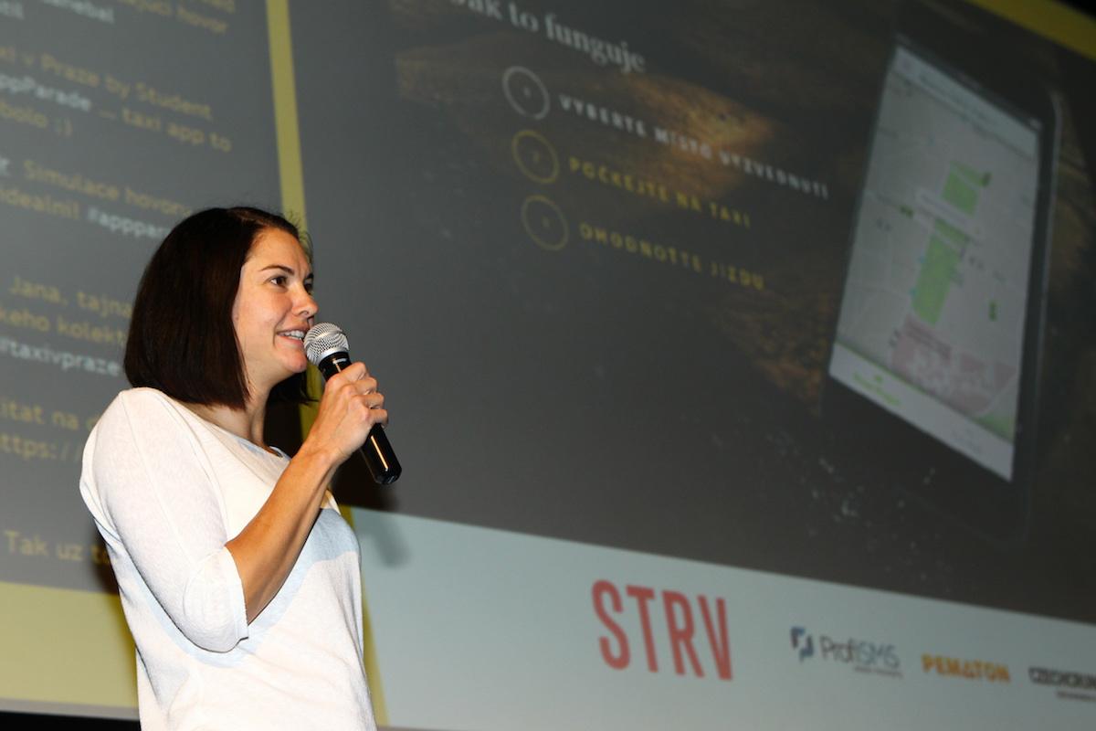 Jana Šrotířová reprezentovala The Funtasty a Taxi v Praze