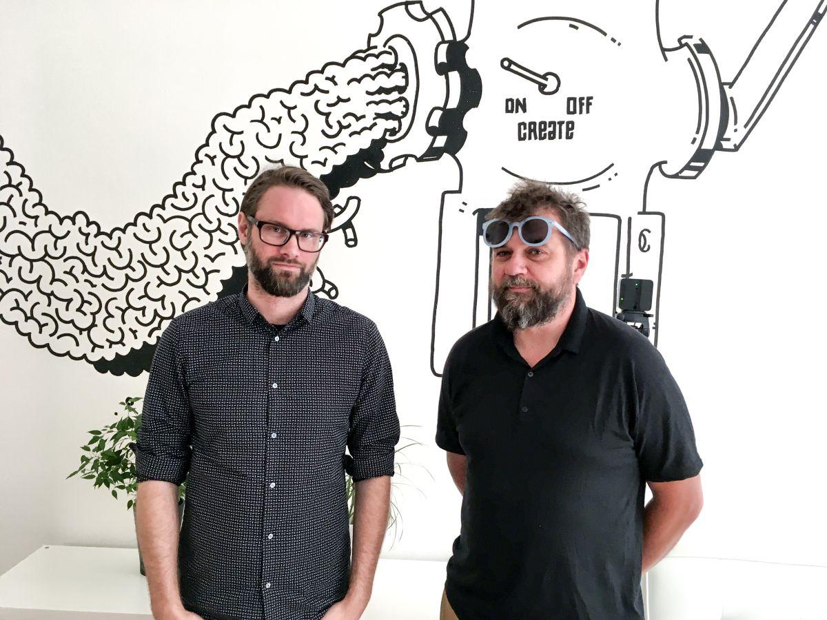 Štěpán Kleník a Petr Hanousek