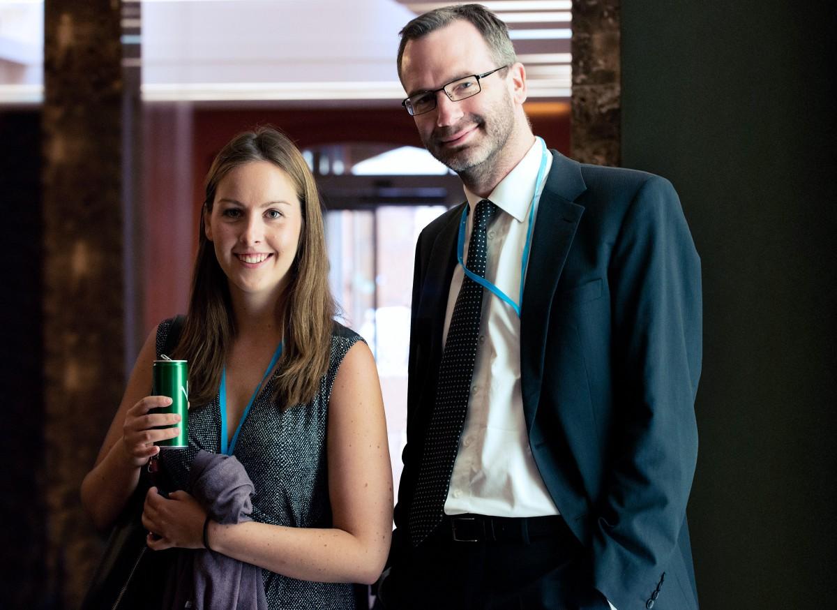 Zuzana Semerádová a Ondřej Aust na konferenci Retail in Detail. Foto: David Bruner