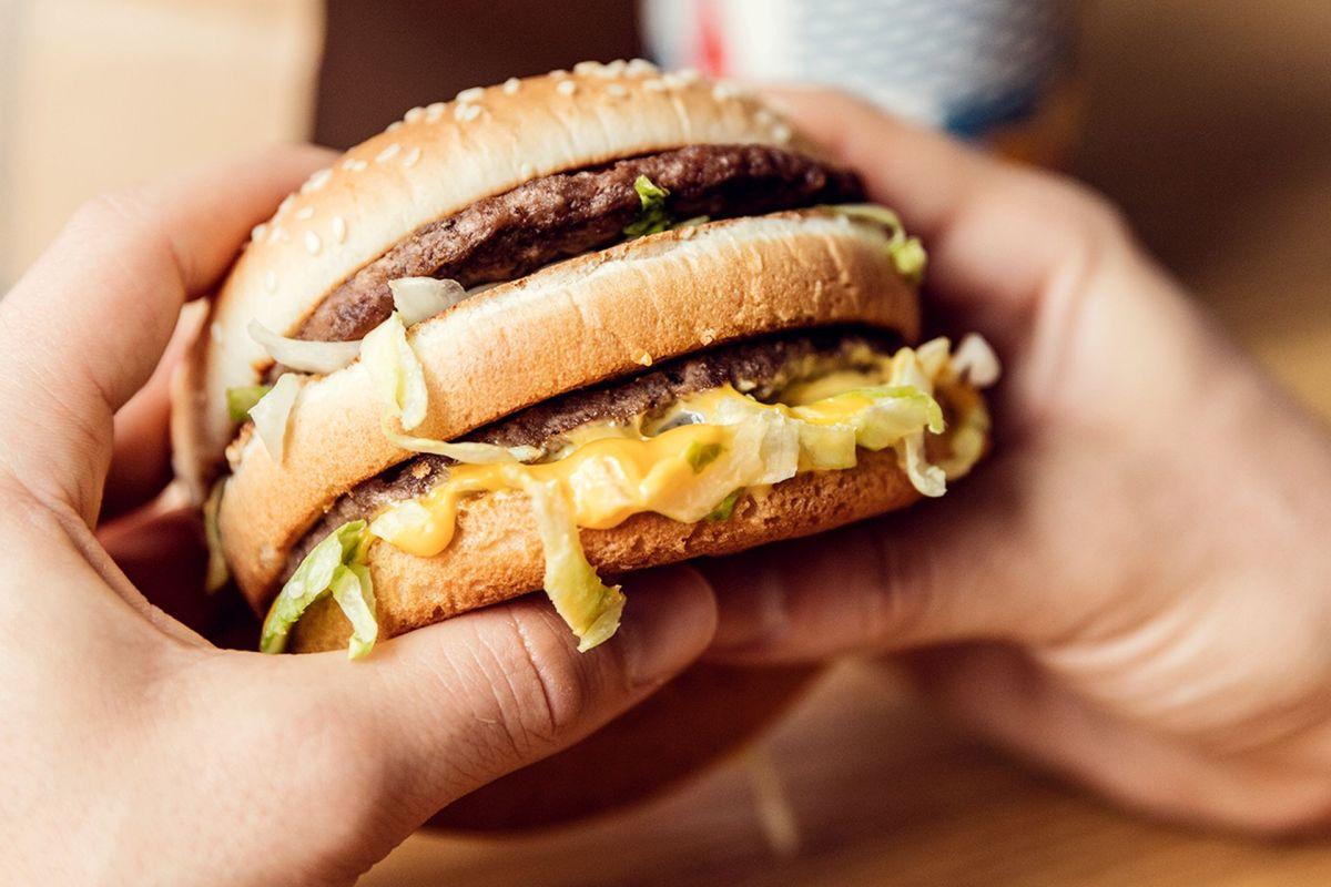 Big Mac. Ilustrační foto: McDonald's