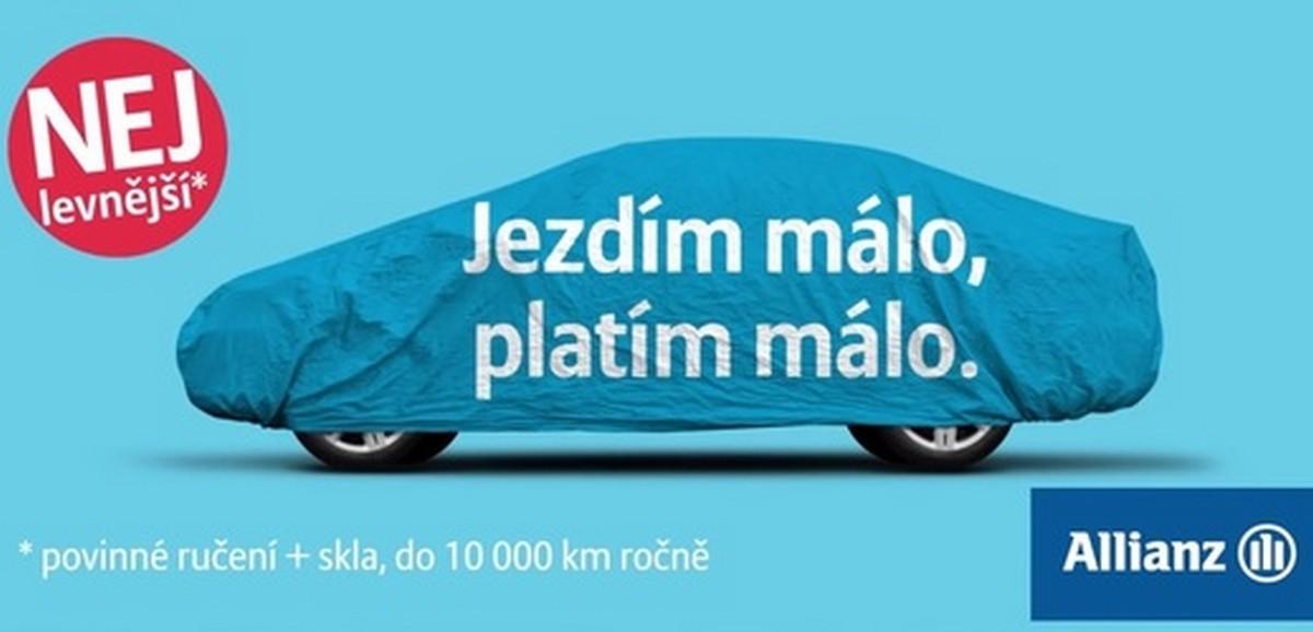 Allianz přišel s kampaní, kdy řidič platí pojistku podle najetých kilometrů