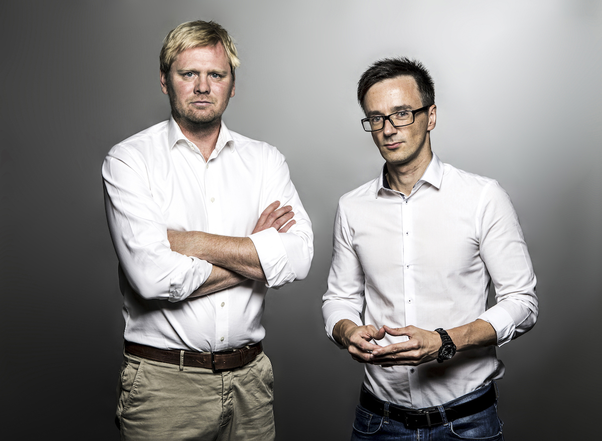 Jaroslav Plesl a Vladimír Vokál. Foto: Mafra/Tomáš Krist