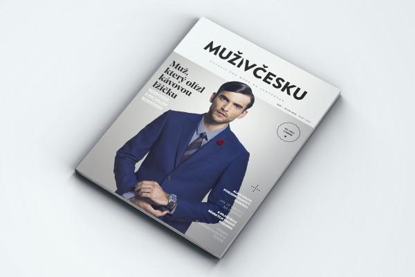 Časopis Muži v Česku vychází poprvé naostro