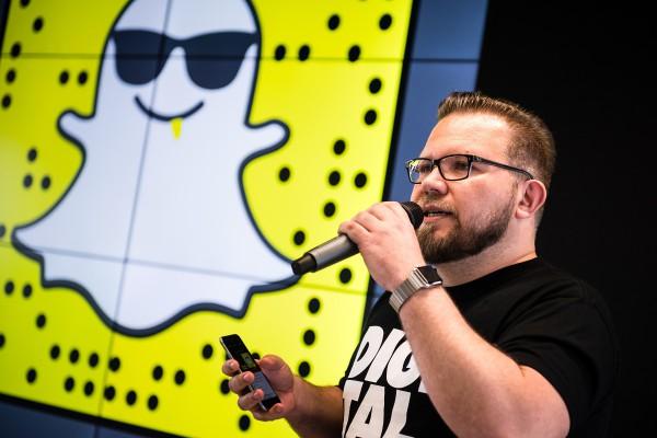 Nová čísla: Snapchat má přes půl milionu Čechů