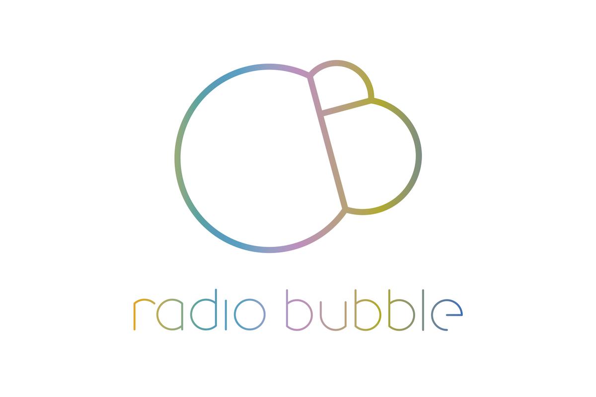 Logo reklamního rádia Bubble