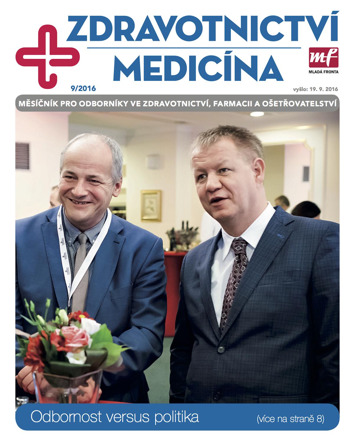 Časopis Zdravotnictví a medicína v novém