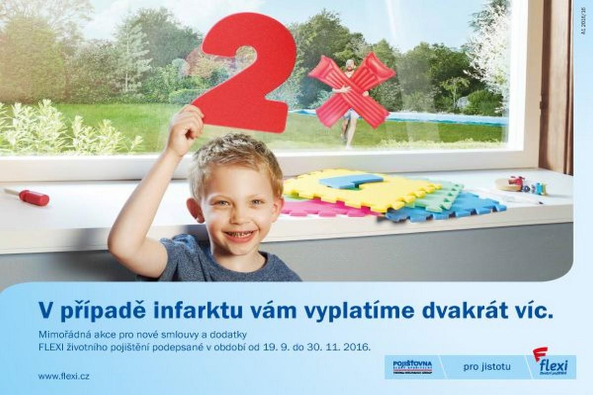 Flexi životní pojištění v podzimní kampani láká skrze pojetí rodiče jako hrdiny pro děti