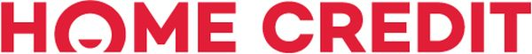 Nové logo Home Creditu v jednořádkové verzi