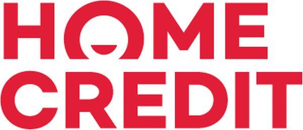 Nové logo Home Creditu v dvouřádkové verzi