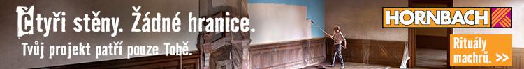 Reklamní banner Hornbachu v HbbTV na Primě
