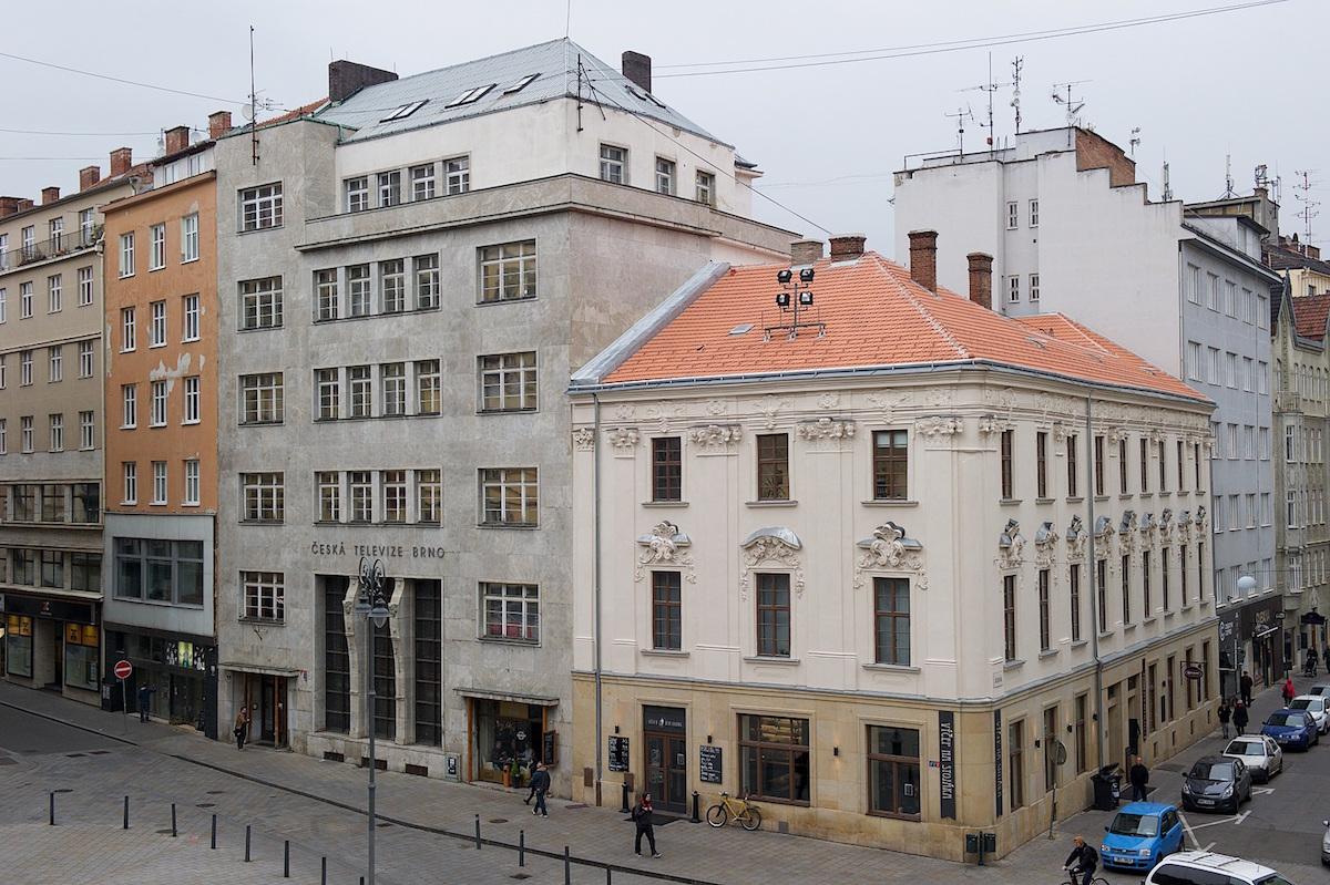 Původní objekt ČT Brno v Běhounské. Foto: ČT