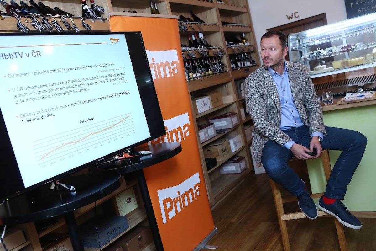Šéf internetových aktivit Primy Daniel Grunt