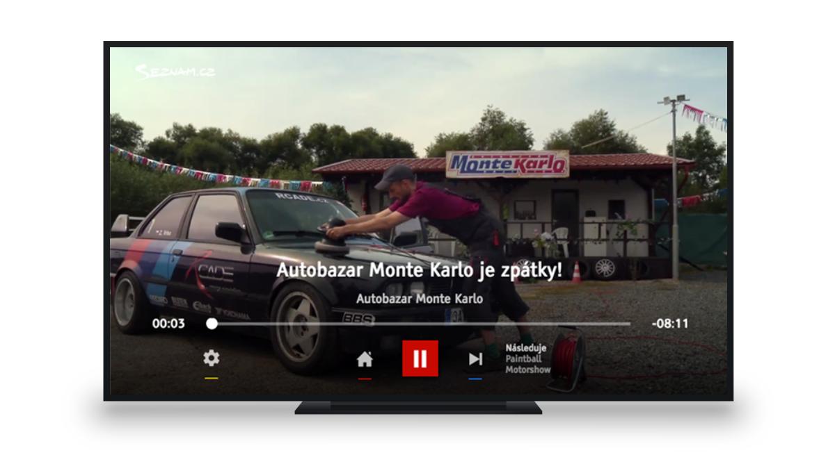 Seriál Autobazar Monte Karlo v HbbTV