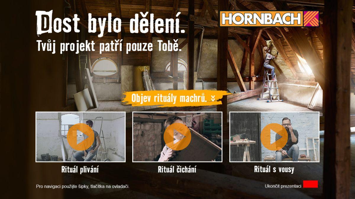 Od října testuje Prima v HbbTV propojení spotů a online letáků, v případě této kampaně jde konkrétně o Hornbach