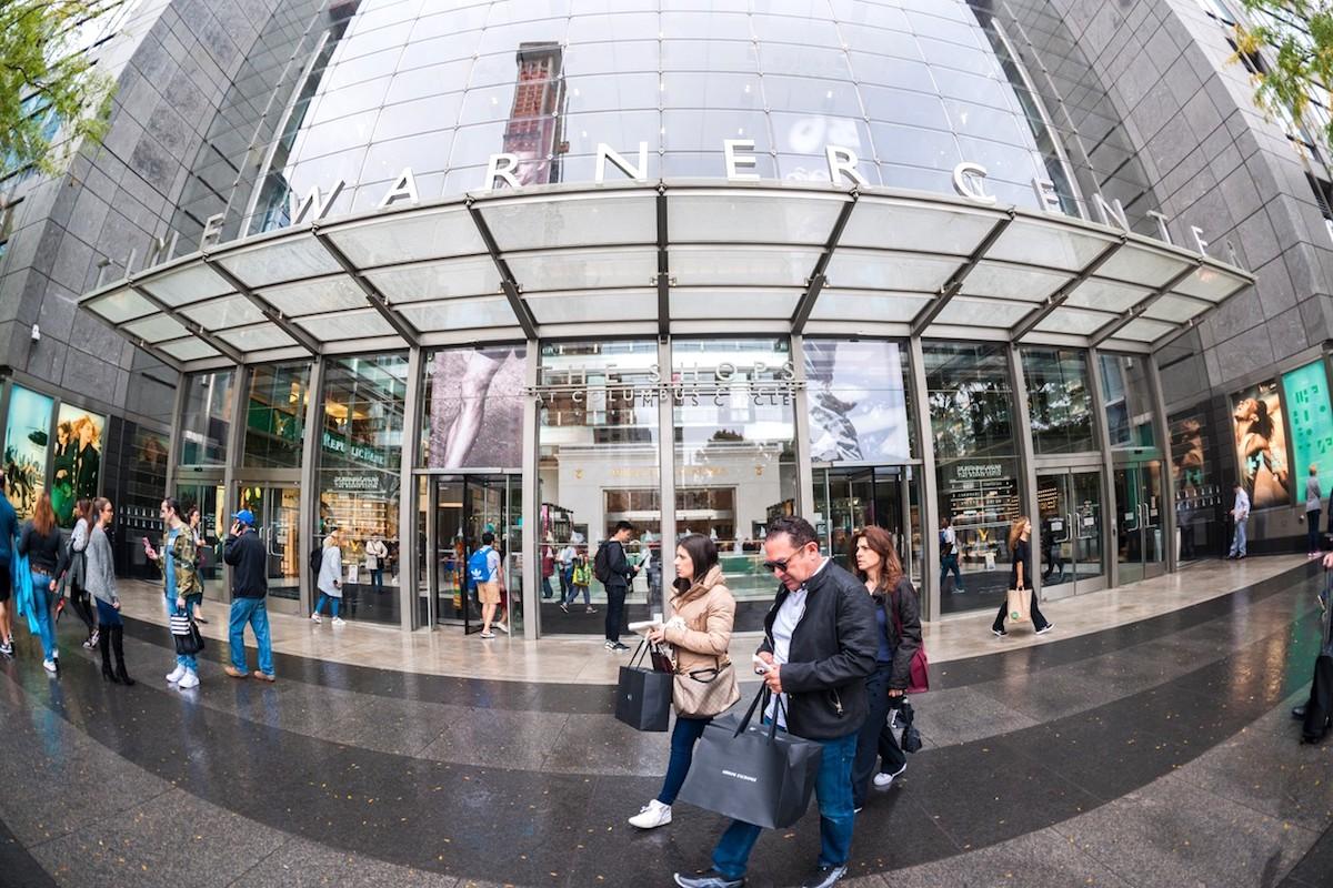 Time Warner Center v New Yorku. Ilustrační foto: Profimedia.cz