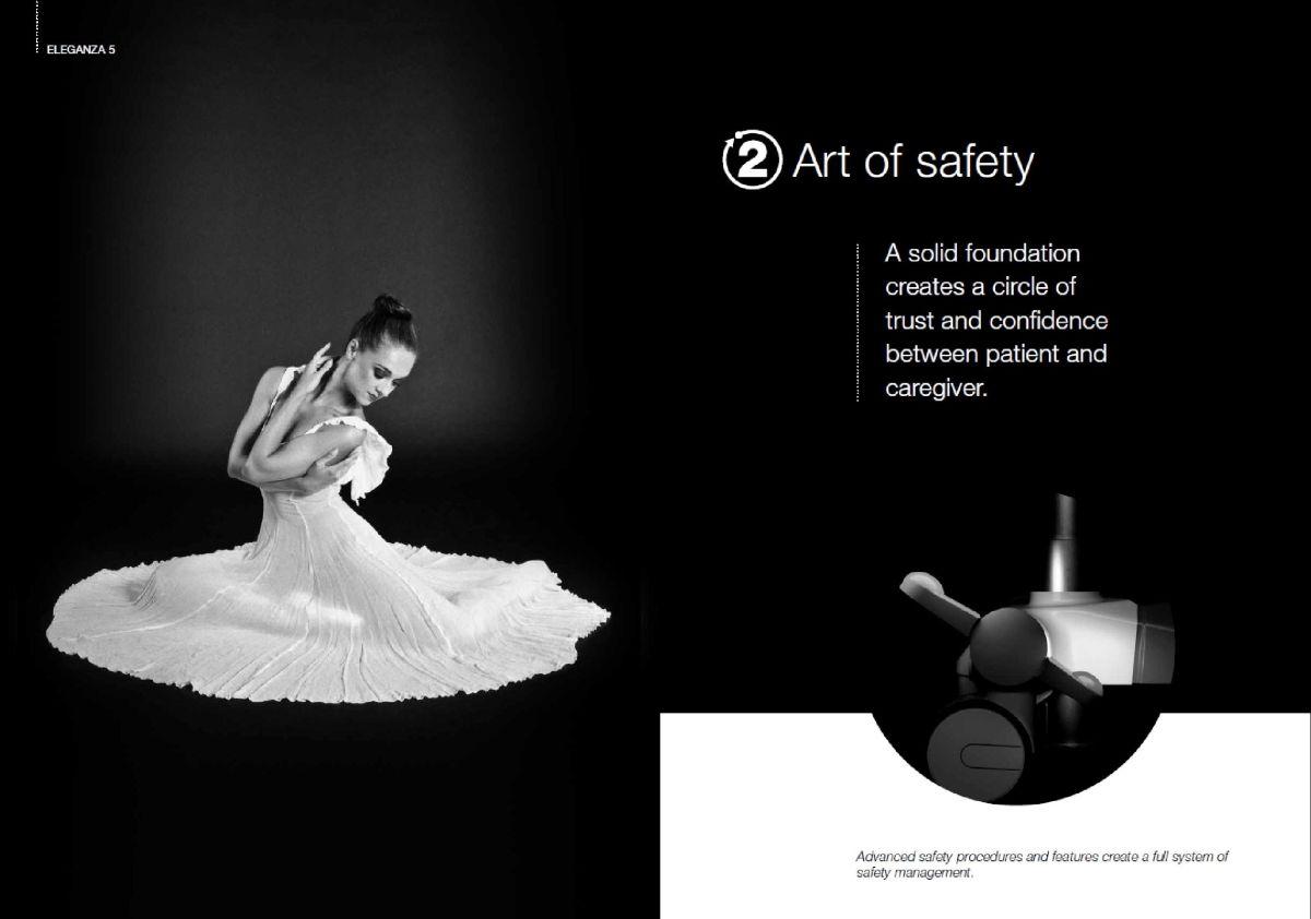 Výsledná podoba reklamních materiálů nového lůžka