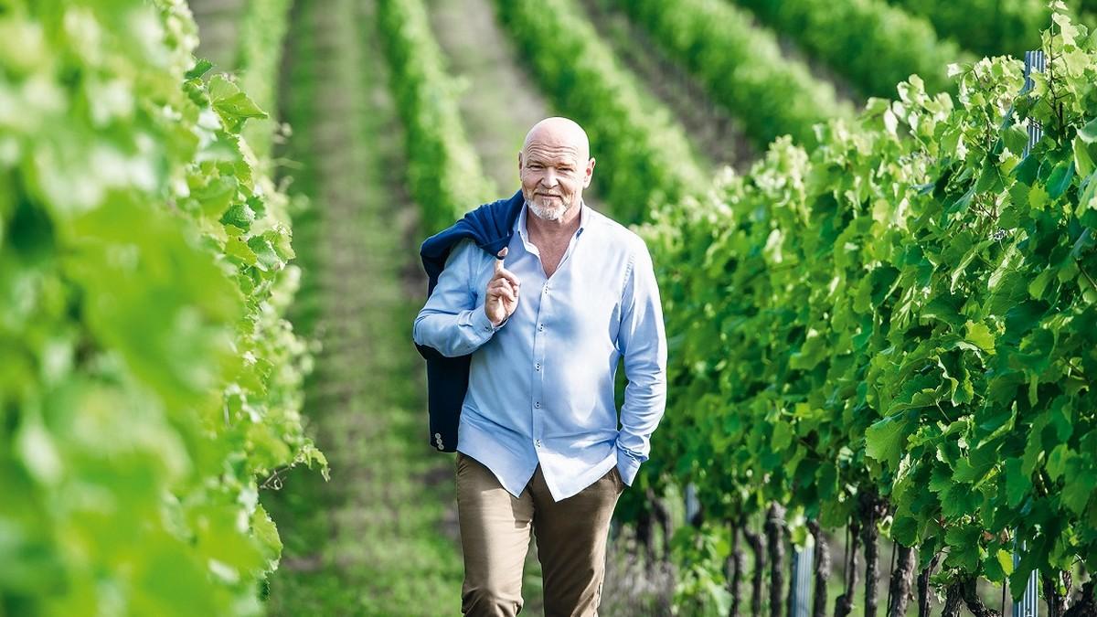 Marek Vašut opět ve vinařské kampani pro Lidl