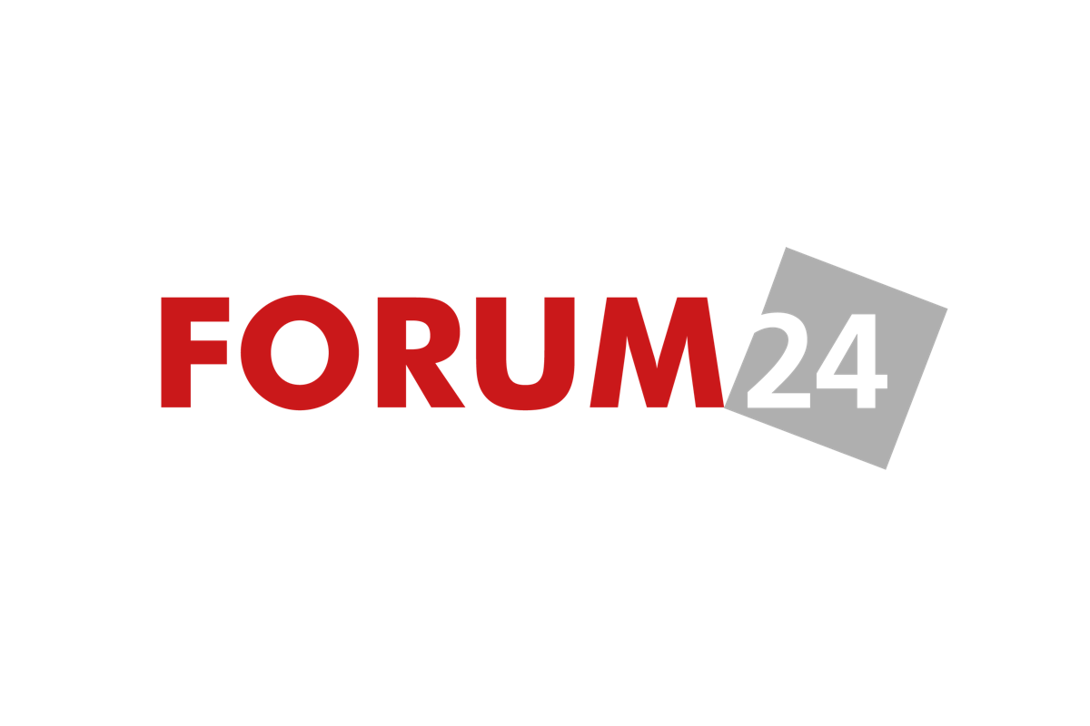 Logo chystaného online deníku Forum24