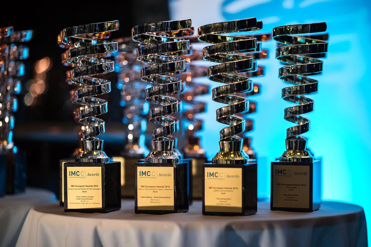 Tak vypadají trofeje IMC Awards