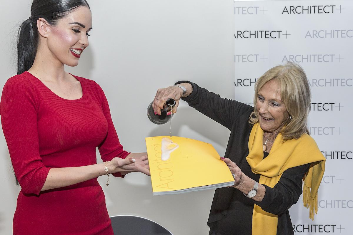 Časopis Architect+ pokřtila Eva Jiřičná
