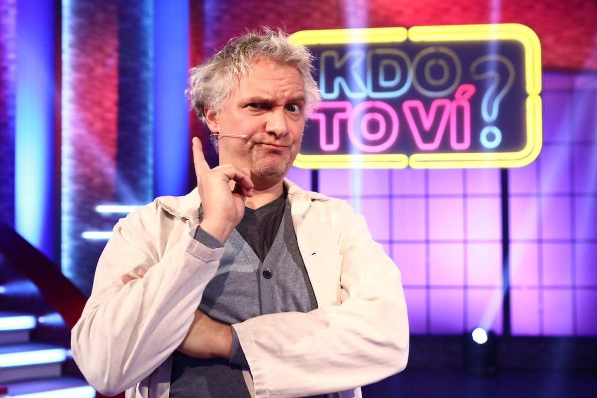 Bronislav Kotiš jako podivínský vědec
