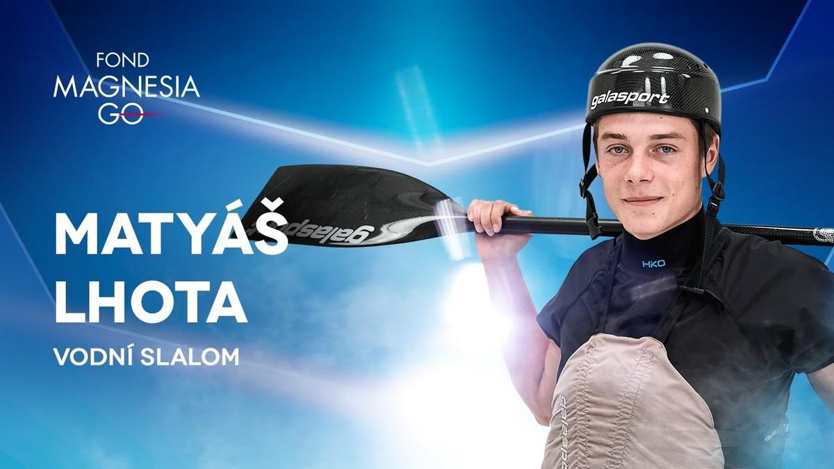 Jeden z účastníků letošního ročníku Magnesia Go - vodní slalomář Matyáš Lhota