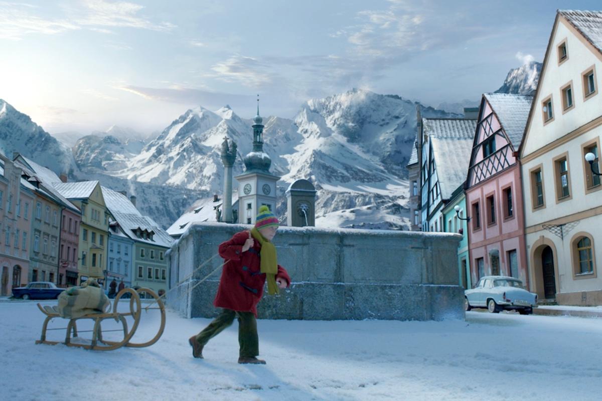 Příběh Milky se odehrává v českém Lokti, Aply v pozadí jsou dodělané animátory
