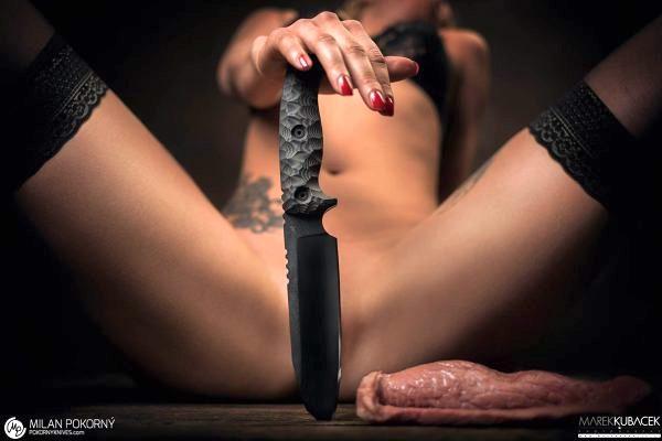 Reklama Pokorny Knives