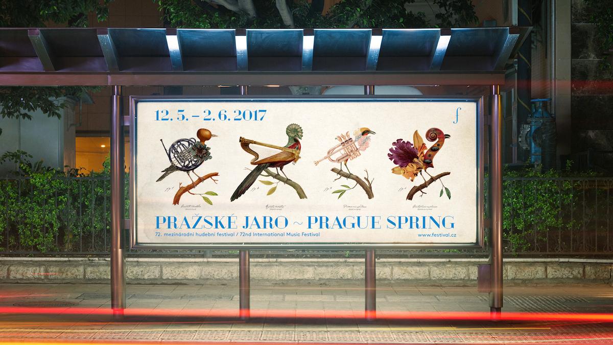 Pražské jaro: billboard