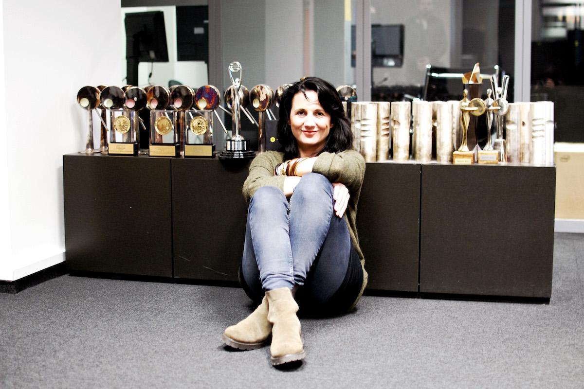 Tereza Svěráková při rozhovoru s Médiářem v listopadu 2014. Foto: Sandra Kisić