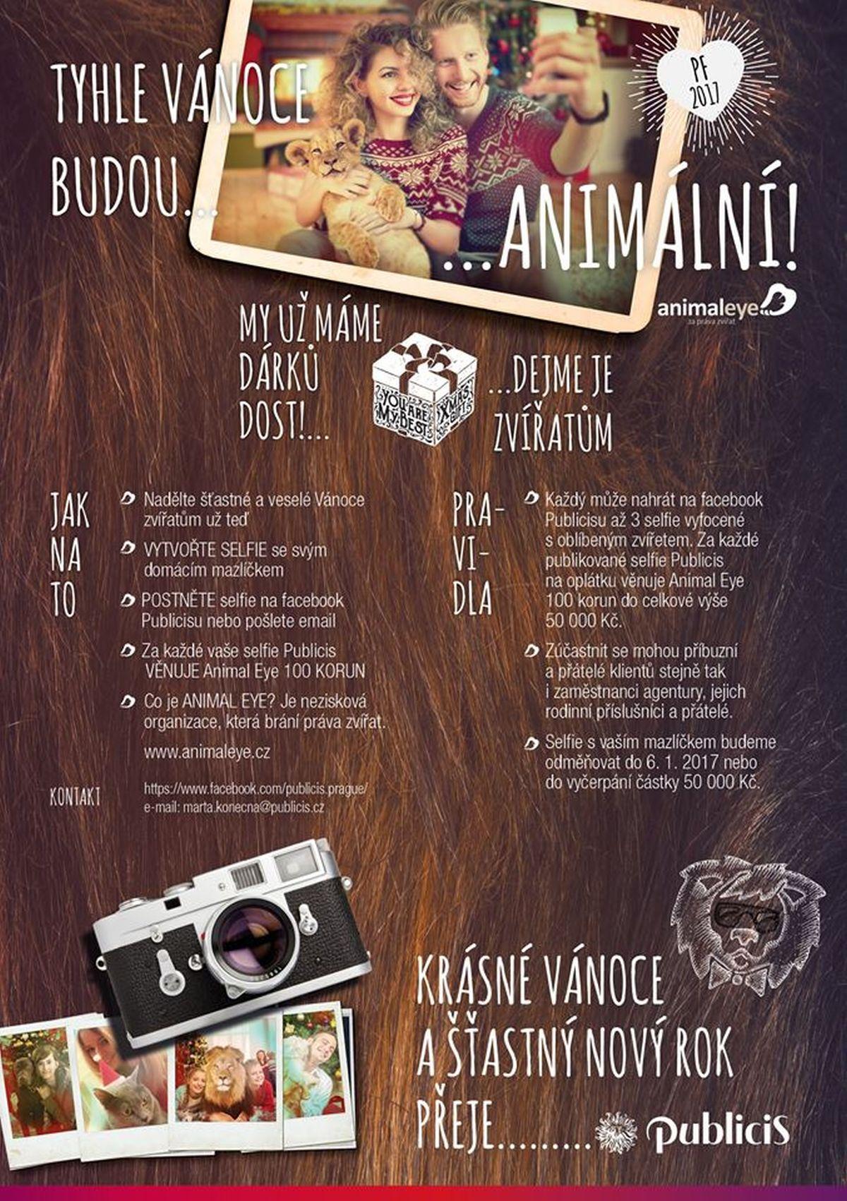Facebooková kampaň Animal Eye od Publicisu