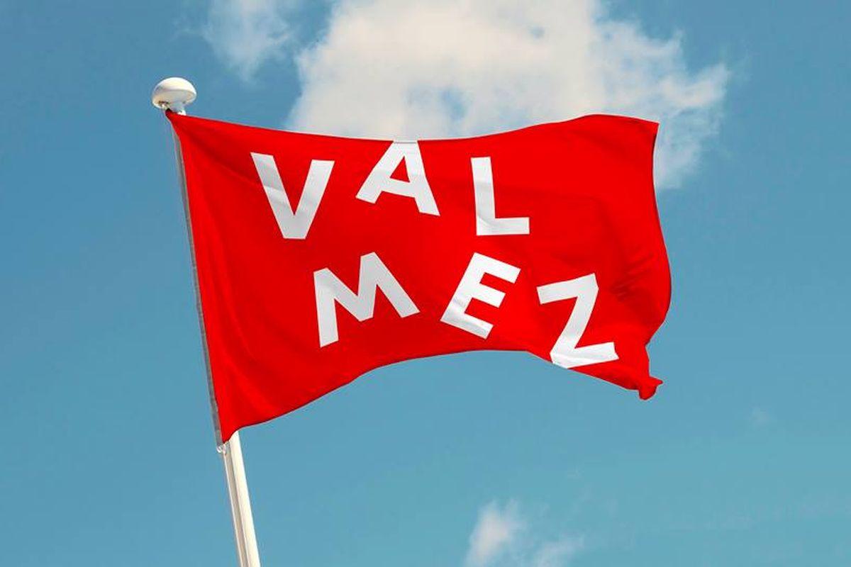 """Nové logo představují """"tančící litery"""" a zkratka Valmez"""