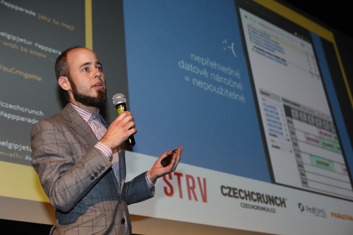 Lukáš Novák přišel s aplikací Univerzity Palackého