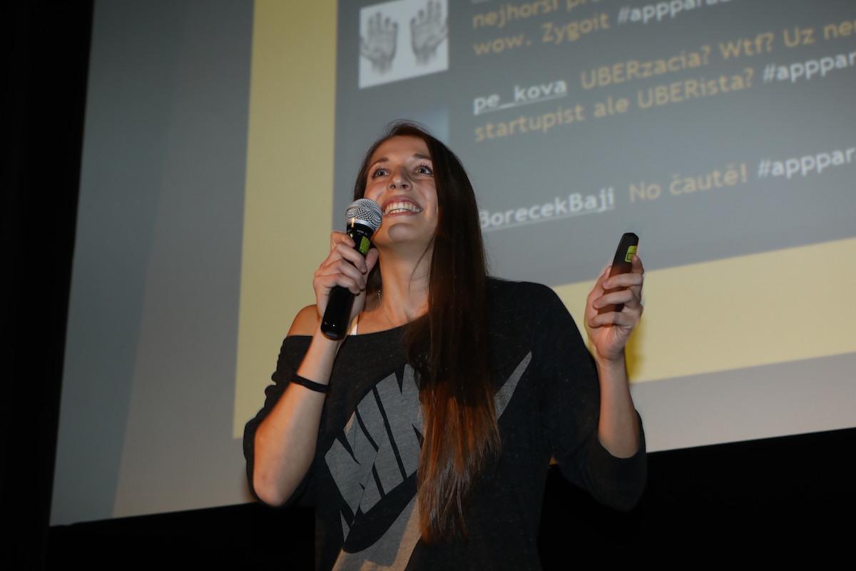 Barbora Suchanová, jediná žena v soutěži, uvedla MedicalTag