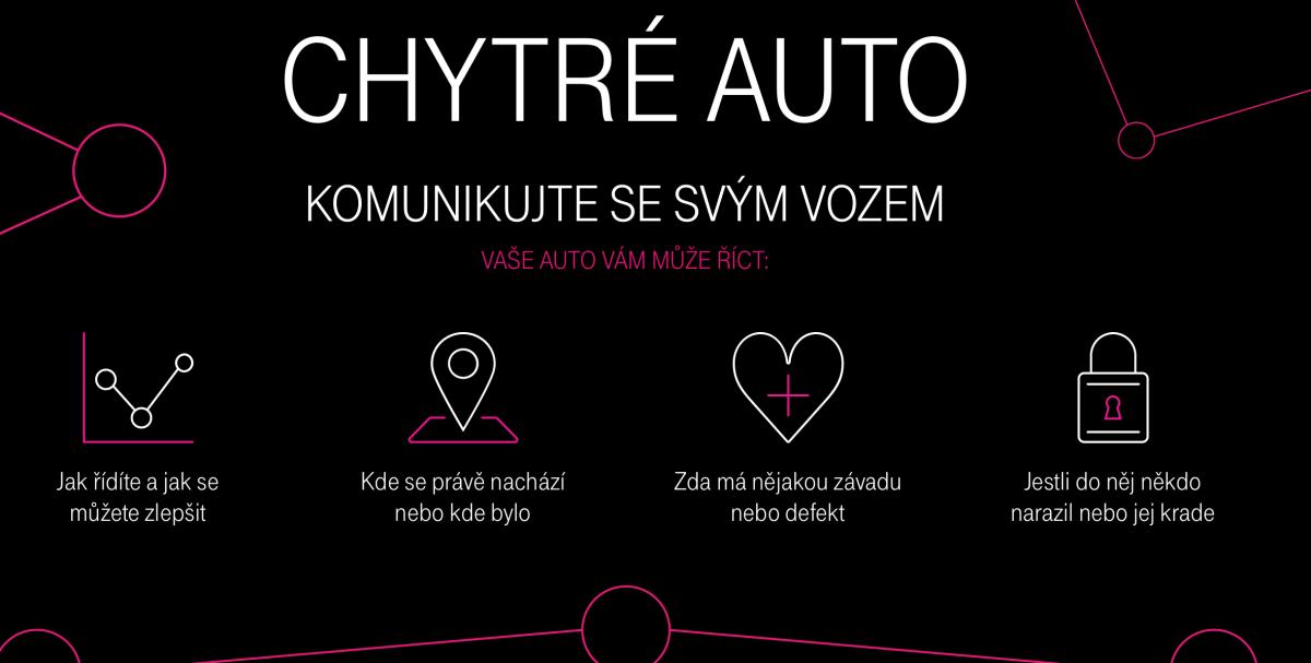 T-Mobile od prvního prosince komunikuje bezpečnou jízdu pomocí Chytrého auta