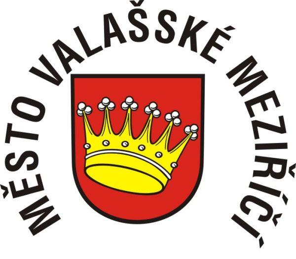 Heraldický znak města s nápisem