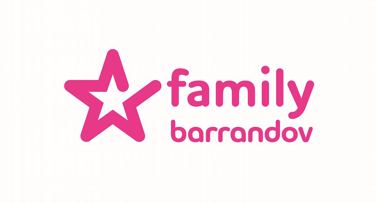 Logo nové stanice Barrandov Family