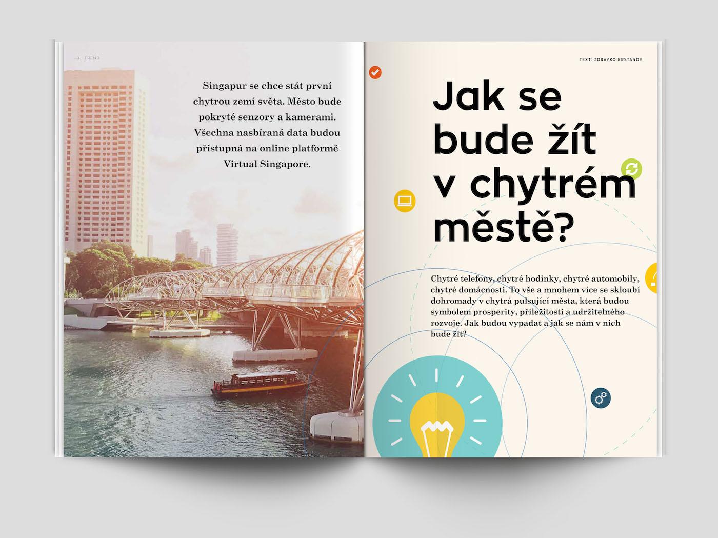 Nový design časopisu MontyRich